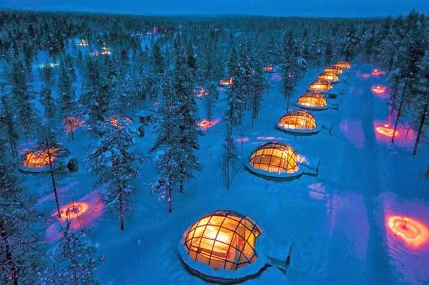 Hotel Kakslauttanen, Finlândia