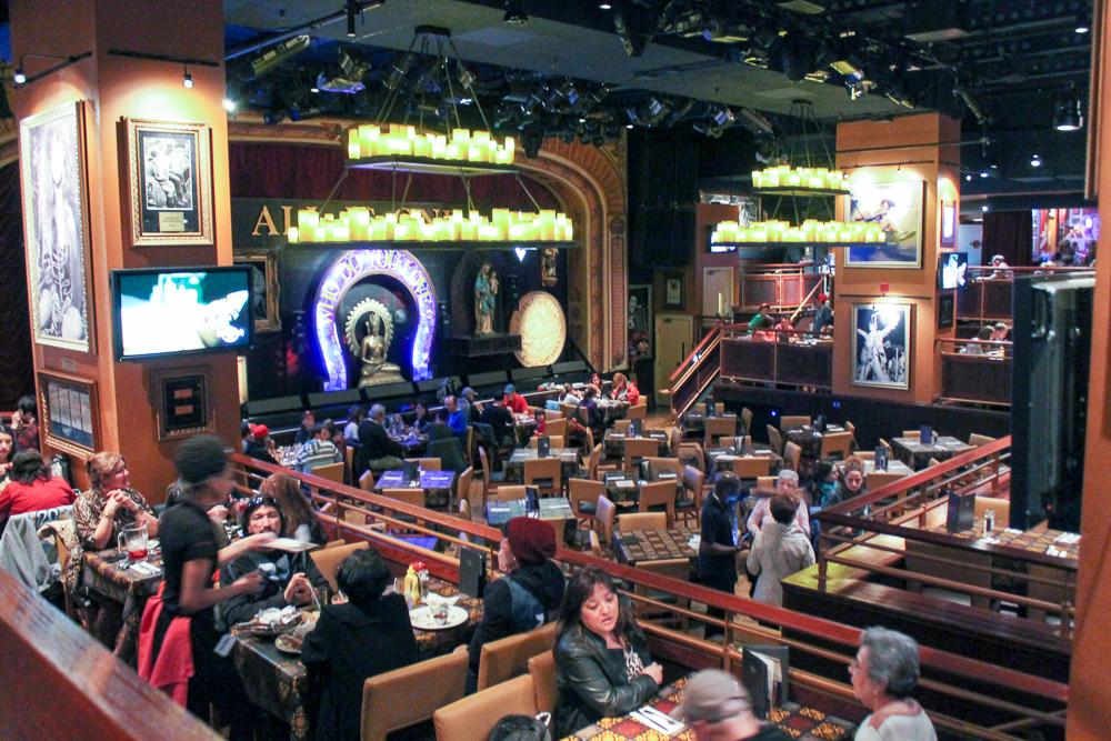 restaurante na Times Square Nova Iorque