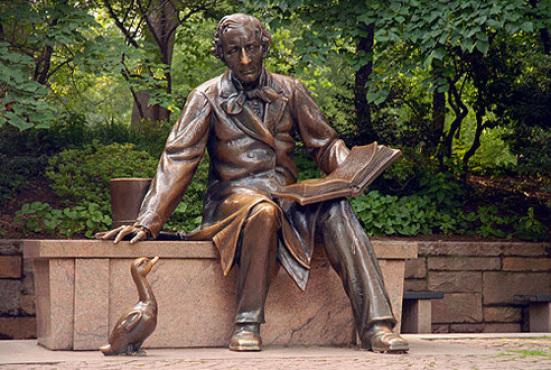 Central Park Christian Andersen