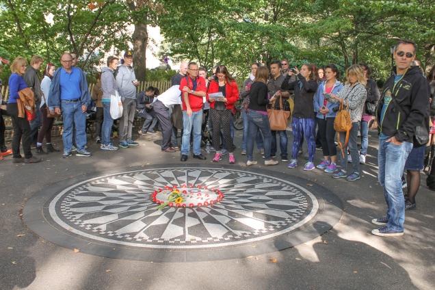 Central Park  John Lennon imagine