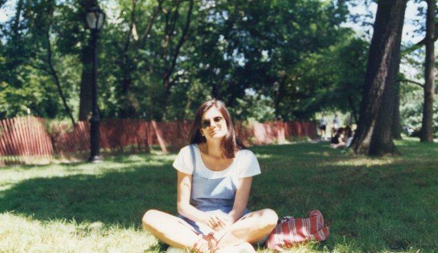 Eu em minha primeira visita ao Central Park
