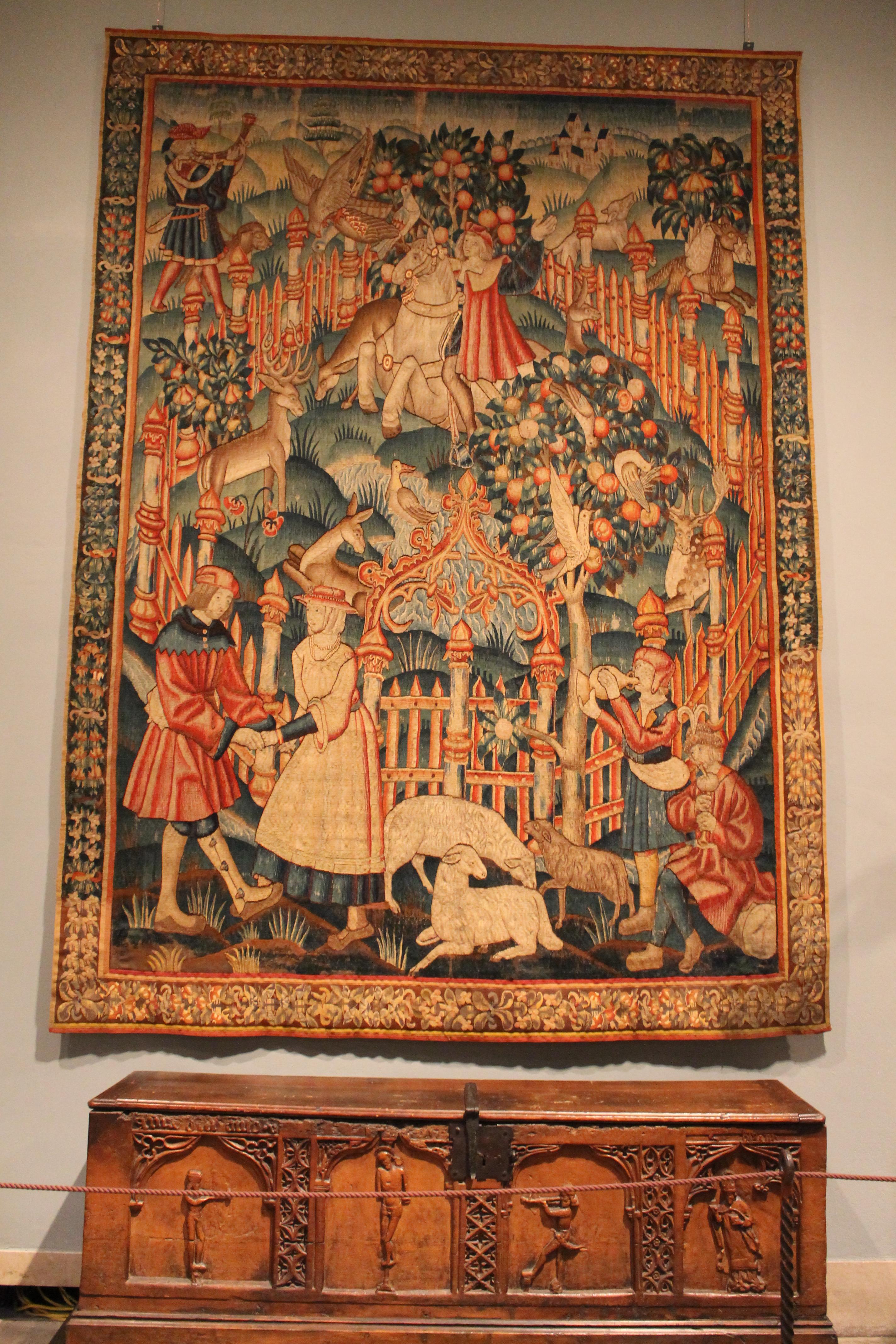 Metropolitan Museu tapeçaria