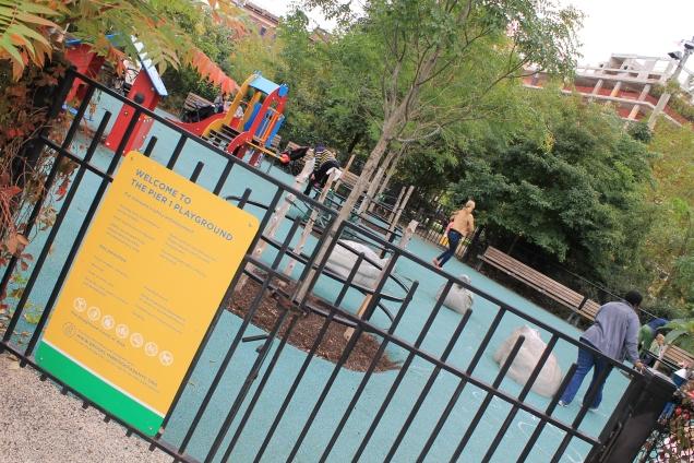 Playground para os menores