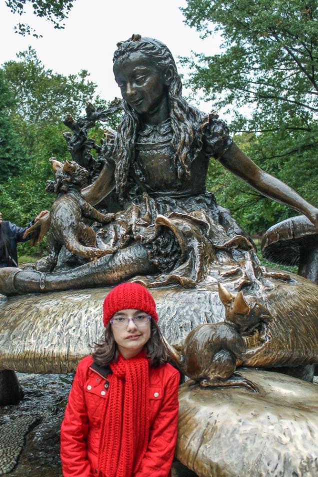 Alice no Central Park