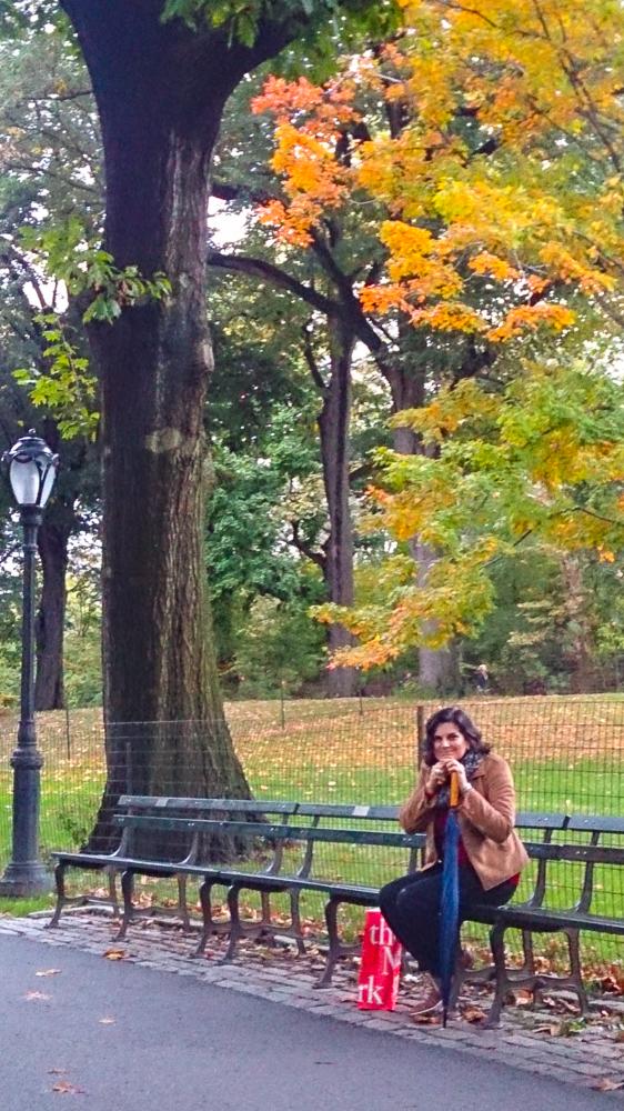 Central Park em outubro