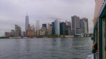 Estátua da Liberdade vista do barco ferry