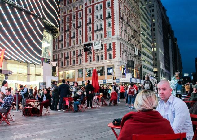 Times Square Nova Iorque à noite