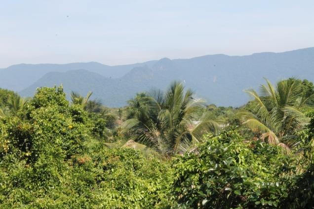 Não canso da vista de montanhas