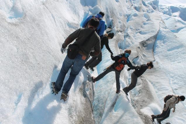 Mini trekking na Perito Moreno