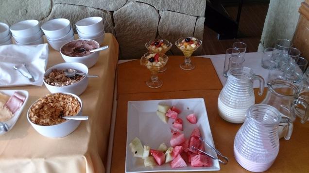 El Calafate breakfast