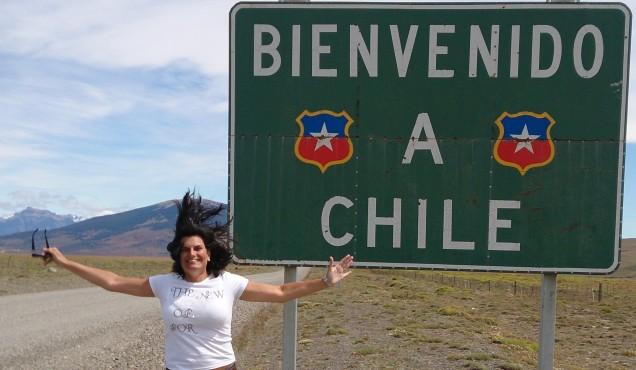 estrada Torres del Paine