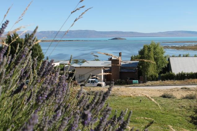 hotel com vista para Lago Argentino El Calafate