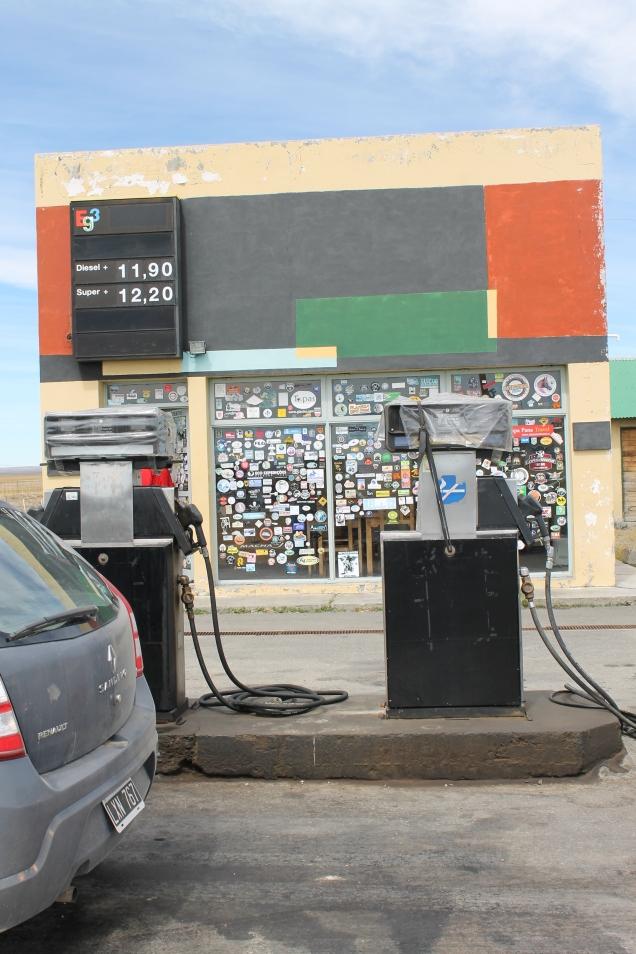 Torres del Paine postos de gasolina