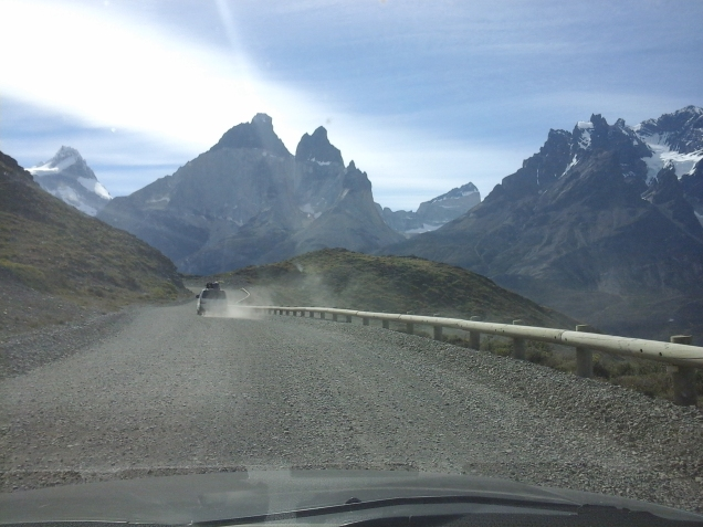 Torres del Paine estradas