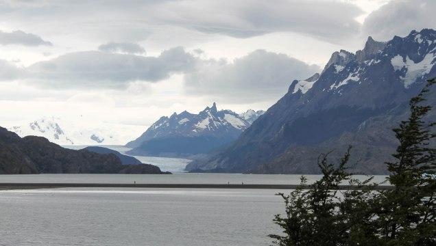 O glaciar Grey