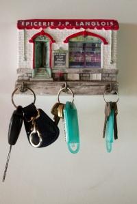 Este porta-chaves veio de Quebec e está em uso há uns 15 anos!