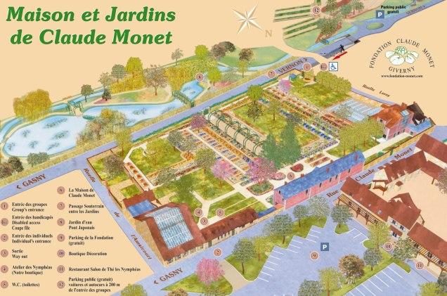 jardins de Monet e casa museu