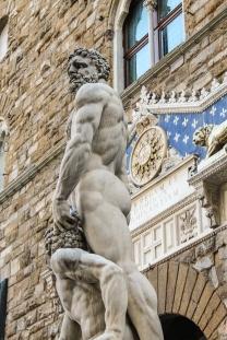 O bom de Florença é que há arte pelas ruas, de graça