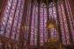 O interior da Sainte Chapelle