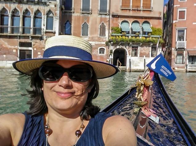 Eu com meu segundo chapéu veneziano