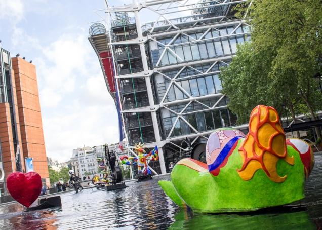 O Pompidou