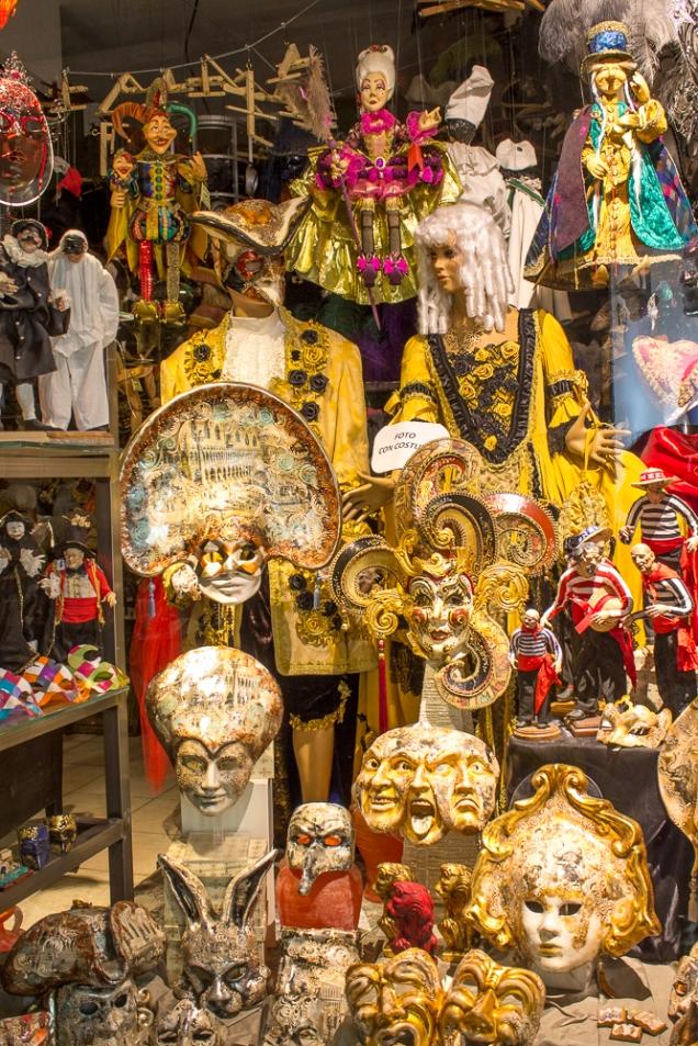 Veneza máscaras