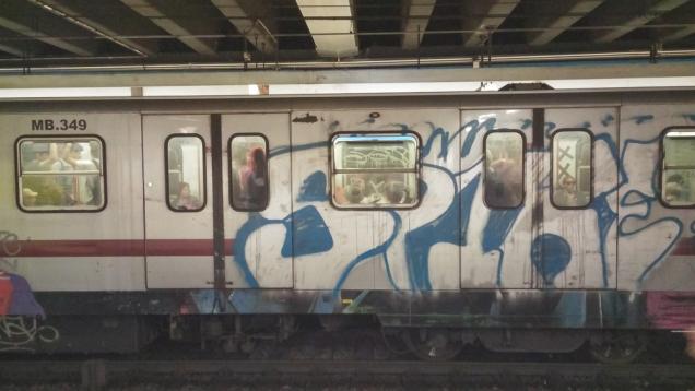 Roma como é o metrô