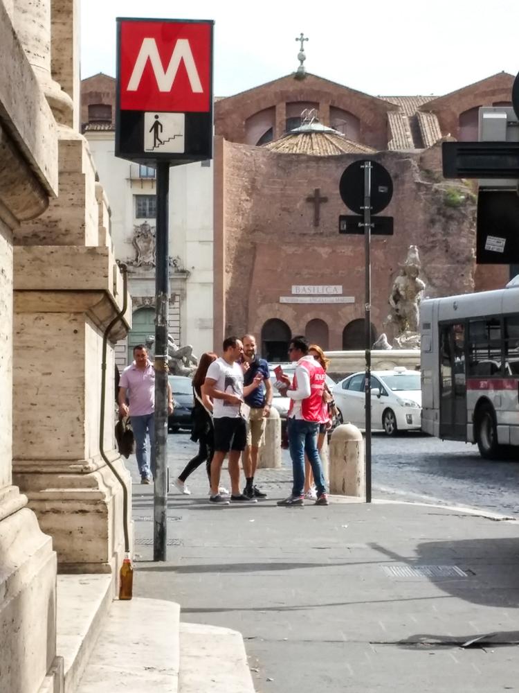 Roma metrô como comprar bilhete