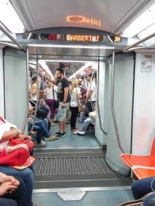 preço metrô Roma