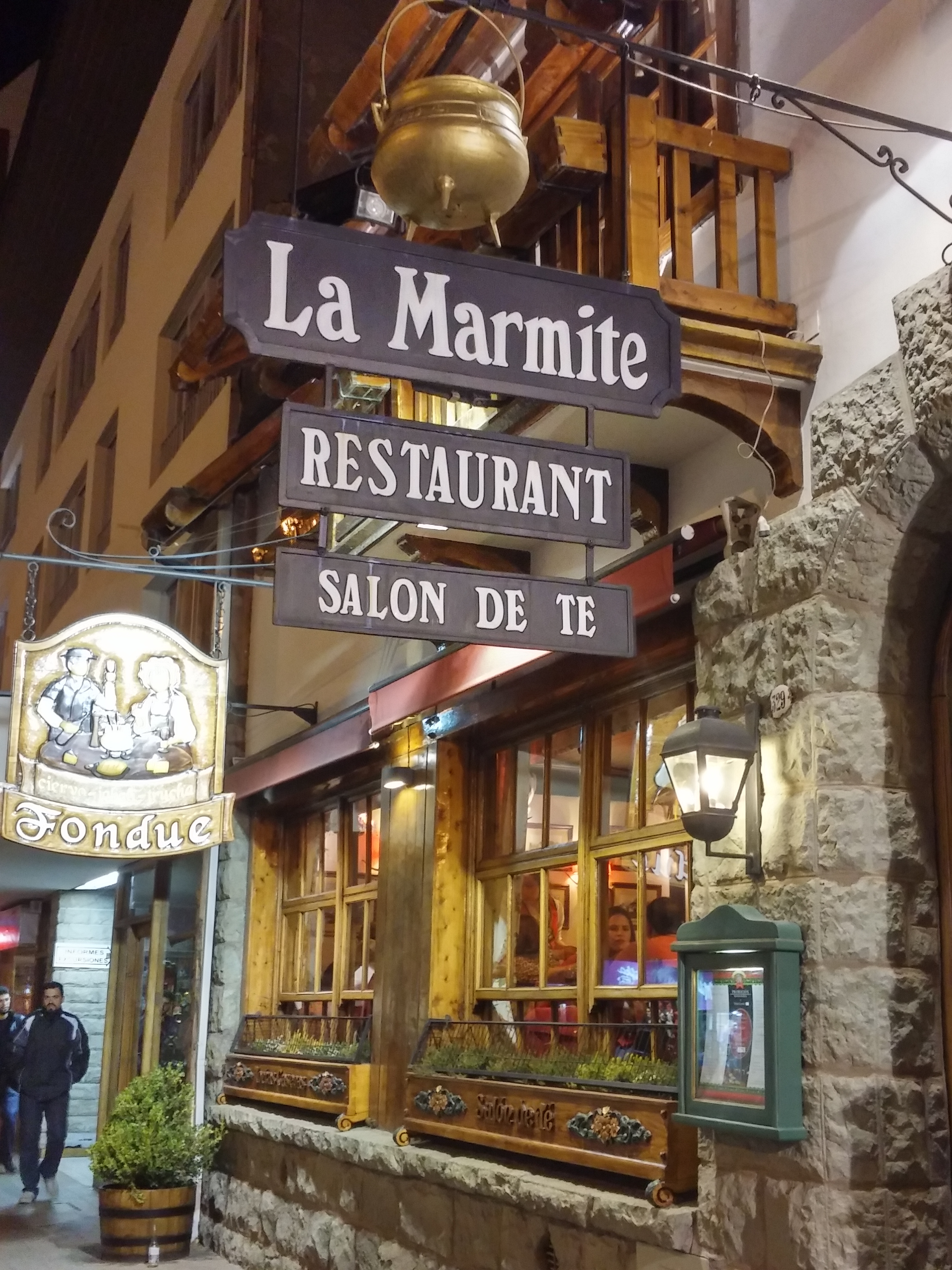 onde comer em Bariloche