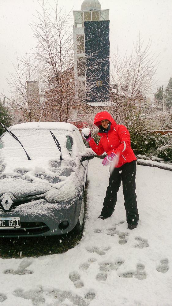 neve em Bariloche