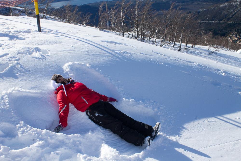 quando neva em Bariloche