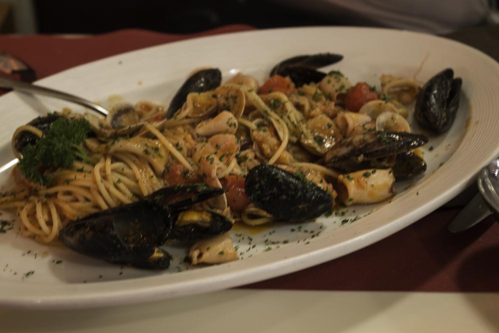 restaurante em Veneza