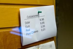 câmbio pesos argentinos