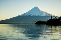 Osorno: vulcão adormecido em Puerto Varas, no final do Cruce Andino