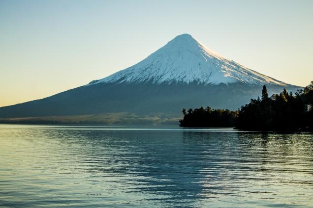Osorno: vulcão adormecido de beleza rara