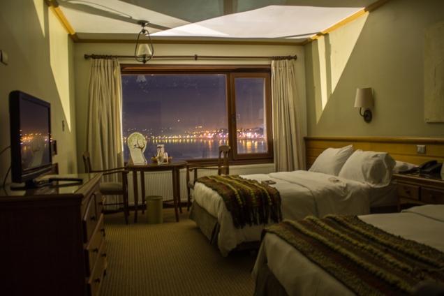O quarto duplo, com duas camas de casal