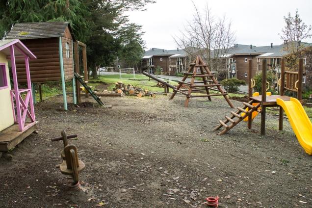 o playground: terra vulcânica sob seus pezinhos