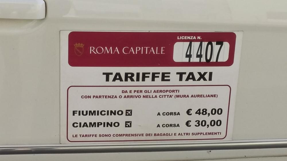 Roma taxi