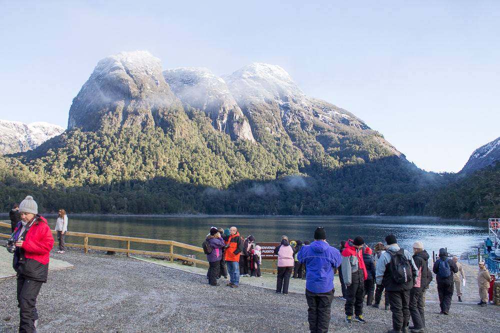 Puerto Blest Bariloche no inverno