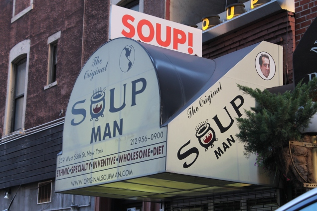 """""""No soup for you!"""""""