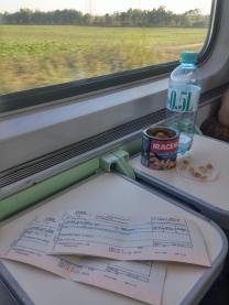 Conforto e paisagem - e snacks, porque ninguém é de ferro!