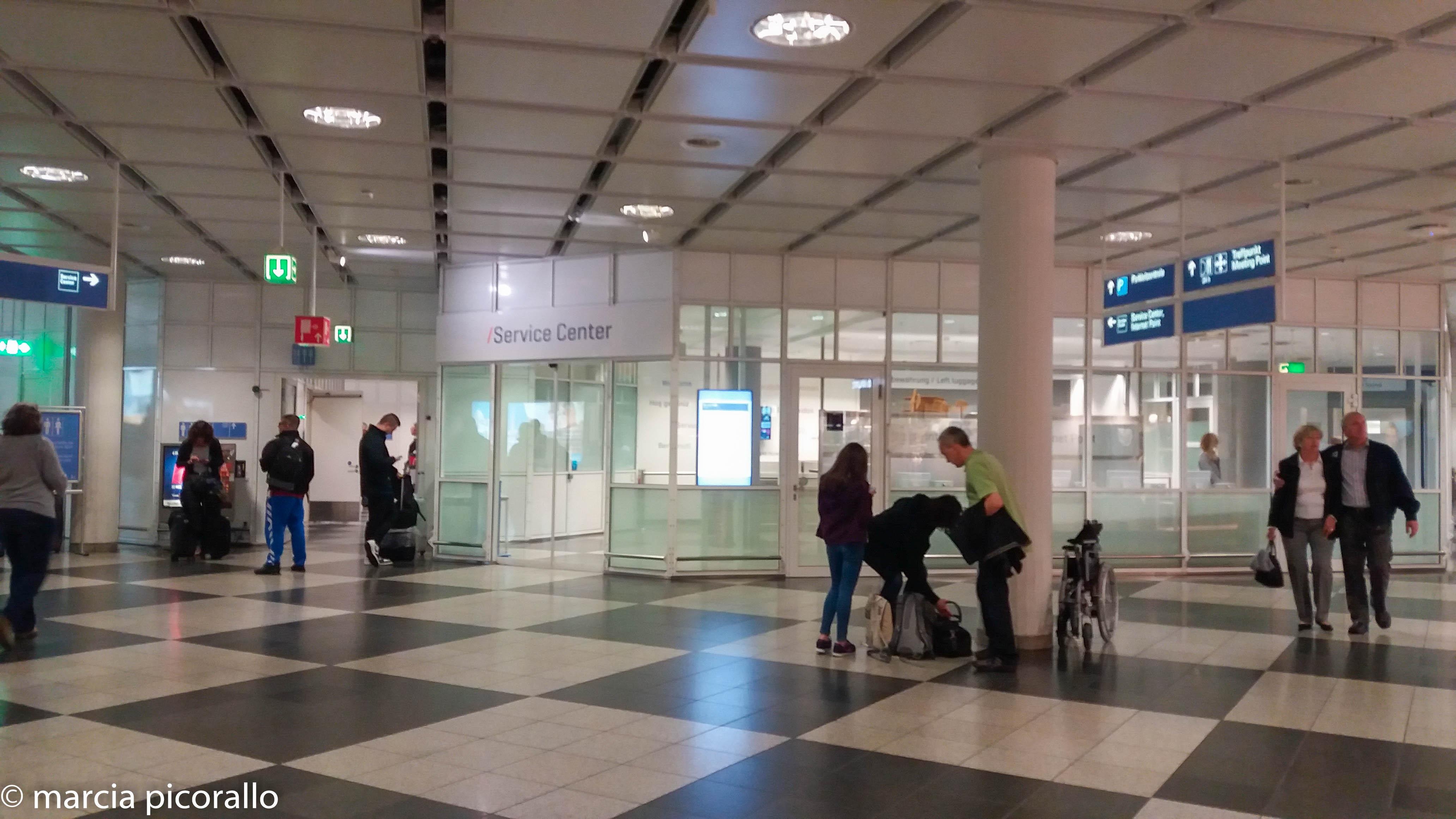 Guarda volumes Munique aeroporto