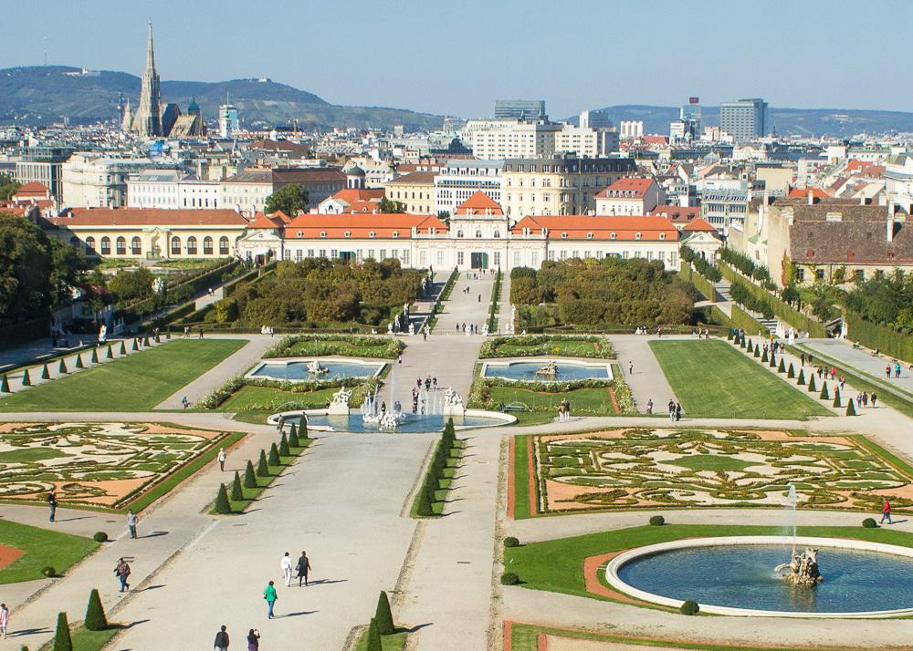 belvedere museus Viena
