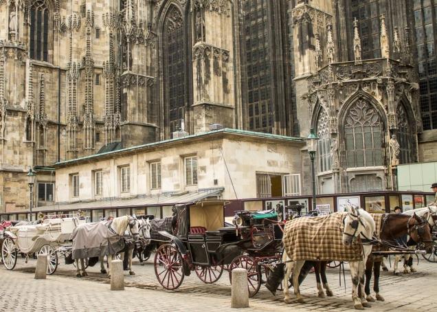 carruagem igreja Viena