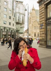 Hot dog vienense: delicioso!