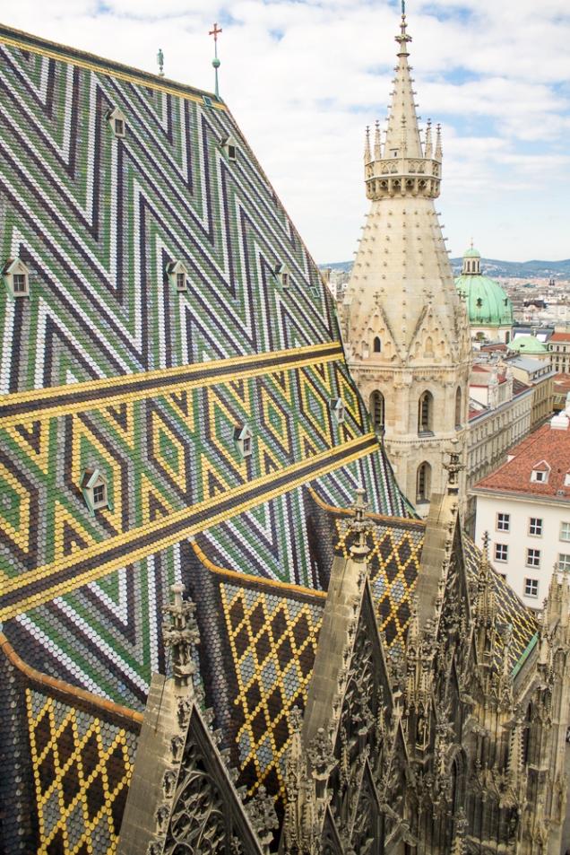 Telhado da Igreja S. Estevão, Torre Norte
