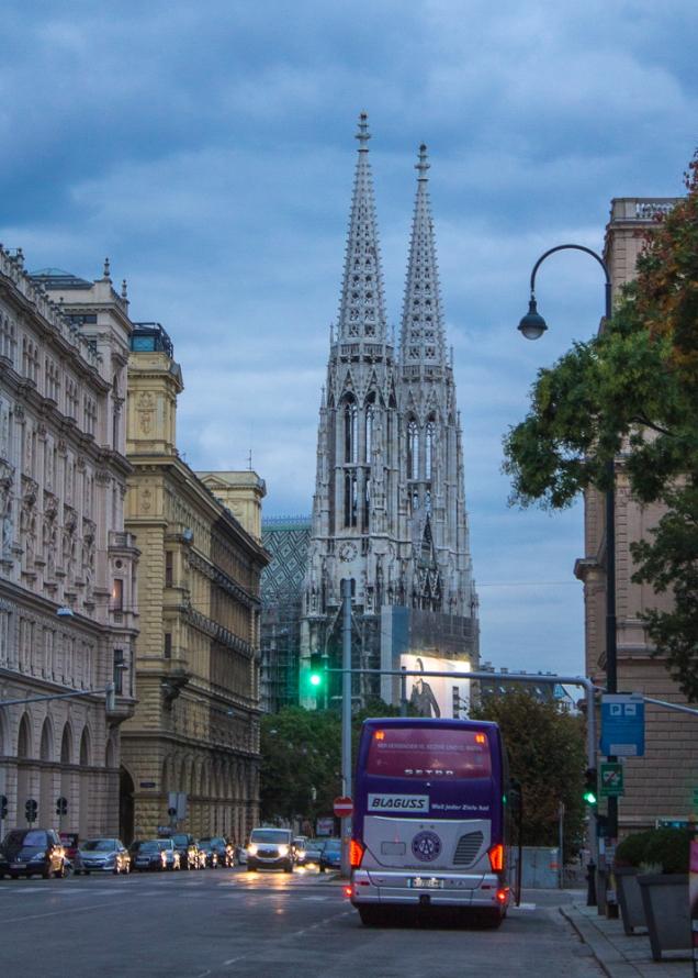 igreja Votickirche Viena