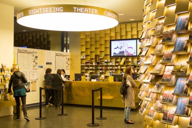 O belo centro de Informações Turísticas