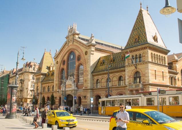 O Mercado de Budapeste